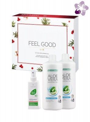 Aloe Vera Feel Good Box Freedom Weihnachten