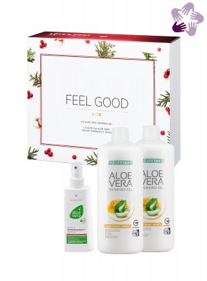 Aloe Vera Feel Good Box Honey - Weihnachten