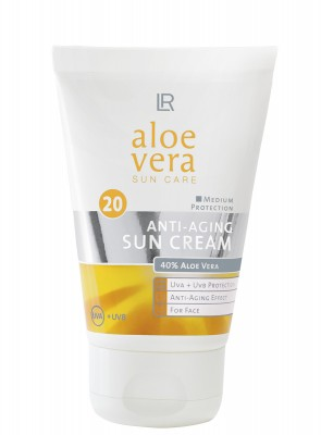 Aloe Vera Anti-Aging Sonnencreme LSF 20 by Aloe Via