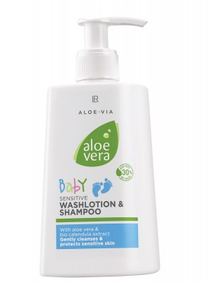 Aloe Vera Baby Shampoo by Aloe Via