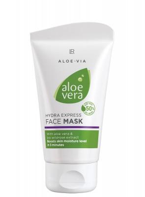 Aloe Vera Espress Feuchtigkeits-Gesichtsmaske by Aloe Via