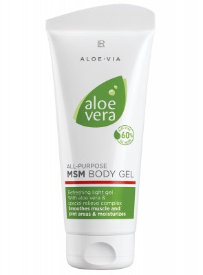 Aloe Vera MSM Body Gel by Aloe via
