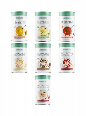 Figuactiv 3er Mix-Set Shakes, Suppen + Vital